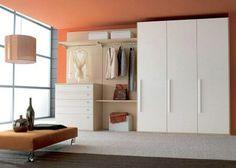 Minimalist closet organizer system
