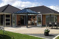 Hjørnemodel   Få designet en udestue der matcher din bolig Gazebo, Outdoor Structures, Outdoor Decor, Tips, Inspiration, Design, Home Decor, Suzy, Anchor