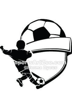 Soccer Boy Kicking by SportsArtZoo #soccer #football #boy