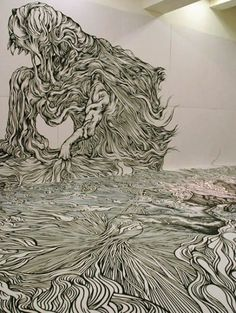 Japanese artist, Yosuke Goda, creates immersive environment rooms