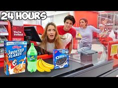 24 HOUR OVERNIGHT IN TARGET!! - YouTube You Tude, Brent Rivera, Youre Invited
