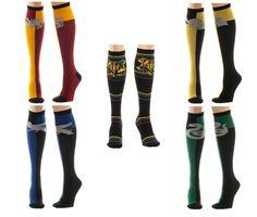 Harry Potter Knee High Socks Bundle 5 Pairs New
