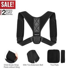 This is a link to Amazon CA and as an Amazon Associate I earn from qualifying purchases. Posture Corrector Clavicle Fracture Support Back Shoulder Correction Brace Belt - Posture Correction Brace #posturebrace #correctionbrace -  $10.99 End Date: Sunday Mar-31-2019 7:55:54 PDT Buy It Now for only: $10.99 Buy It Now   Add to watch list Posture Corrector For Women, Back Shoulder, Posture Correction, Amazon Associates, Braces, Sunday, Belt, Watch, Link