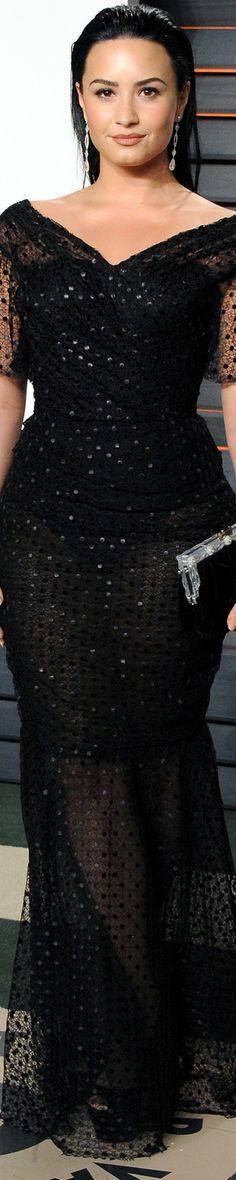 Demi Lovato 2016 Vanity Fair Oscar Party