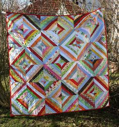 sunset sewing: Anna's quilt