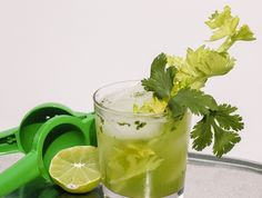 Feteful Life: Celery Cilantro Cocktail