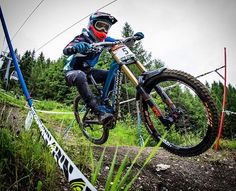 Memories. @lauriegreenland_ down very fast with his mondraker summum pro in last IXS Downhill Cup. Photo by Thomas Dietze  follow him!  #downhilladiction