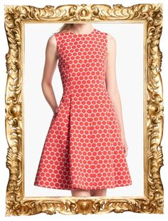 In the Kate Spade Surprise Sale (ends May 22nd): Kate Spade 'Cory' Dot Dress - $129 (was $428)
