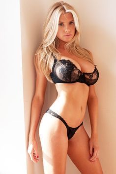 bra panties blonde Sexy and girl in