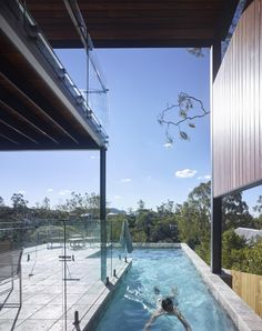 Brisbane Architecture, South Facing House, Rome Streets, Roof Beam, Tower House, New Deck, Outdoor Living, Outdoor Decor, Water Tower