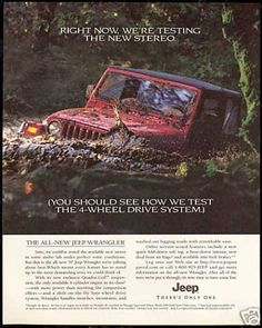"""""""Right now, we're testing the new stereo. (You should see how we test the 4-wheel drive system) ________________________ Reposted by Dr. Veronica LEE (Dpw/Buffalo, NY, US)"""