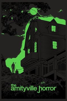 Alternate movie poster, The Amityville Horror Scary Movie Characters, Scary Movies, Cult Movies, Horror Movie Posters, Movie Poster Art, Best Horror Movies, Best Horrors, Alternative Movie Posters, Animals