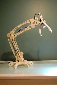 Picture of Woodpunk LED Desk Lamp