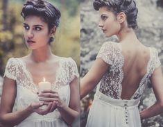 Laure de Sagazan Robe Ruiz  Wedding Dress on Sale 55% Off