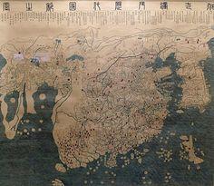 First 'world' map of Korea, Joseon period (1402) [3087×2682] [OC]