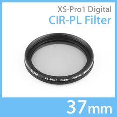 New Elva Camera Digital CIR-PL 37mm Filter Circular Polarizing Slim Filter #Elva