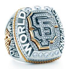 San Francisco Giants Awarded 2014 World Series Rings; Ceremony Marks Third Championship in Five Years - Stephen Silver Fine Jewelry - SH Silver World Series Rings, 2014 World Series, Baseball Ring, Giants Baseball, Ny Yankees, Baseball Players, Sf Giants World Series, Super Bowl Rings, Ring Of Honor