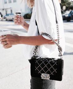 Chanel 'Boy'  |  pinterest: @Blancazh