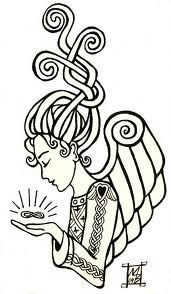 celtic angel. This is part of the inspiration for my tattoo. Dedicated mostly to my sister and family.