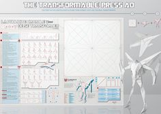 An Origami 'Transformers' Ad You Can Fold Into A Plane And Then A Robot - DesignTAXI.com