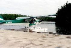 Erik taking off from the float plane base at KaBeeLo Lodge