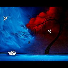 Original Painting - As the Storm.. by Jaime Best (SOLD)
