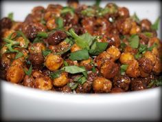 Mexican Roasted Chickpeas - Life In Pleasantville