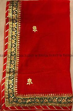 Initiative Indian Embroidered Prom Dress Border 9 Yd Trim Green Craft Lace Zari Gota Patti Sewing