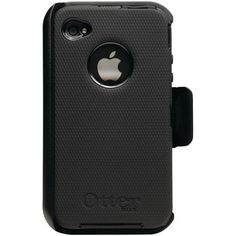 OtterBox Universal Defender Case for iPhone 4 (Black Silicone & Black Plastic) $21.99