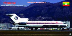 Presidential Aircraft of the Myanmar