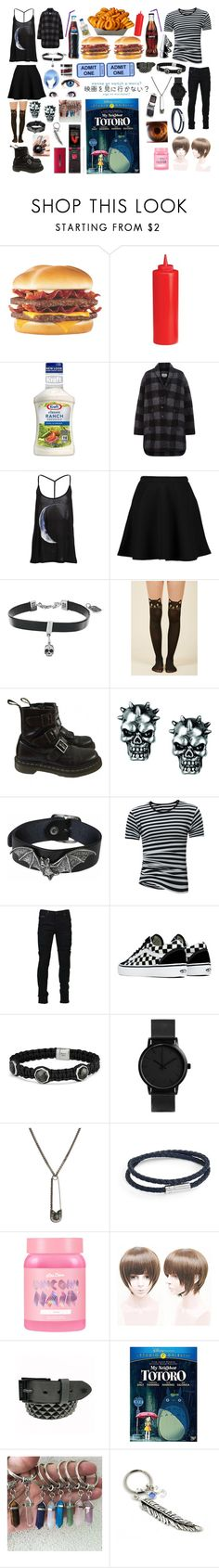 """Untitled #410"" by xxsnowfoxx ❤ liked on Polyvore featuring Junk Food Clothing, Étoile Isabel Marant, Boohoo, King Baby Studio, Dr. Martens, Marcelo Burlon, Vans, David Yurman, Alexander McQueen and Tateossian"