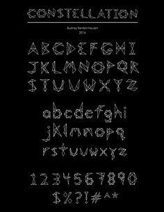 Constellation Font by LunarStarStudio