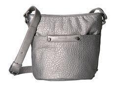 Kenneth Cole Reaction Hard and Soft Mini Crossbody Messenger Bag, Satchel, Louis Vuitton, Handbags, Tote Bag, Wallet, Amazon, Silver, Image Link