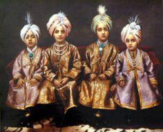 SONS OF MAHARAJA JAGATJIT SINGH, KAPURTHALA