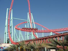 Top 5 Best Rollercoasters In the World ~ Fascinating Places To Travel