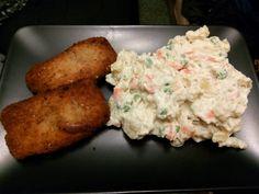 Majonézový šaláť a rezne Tofu, Meat, Chicken, Cubs