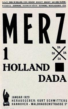 Kurt Schwitters – Merz Volume 1, 1923