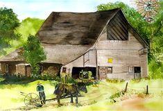 amish-barn-susan-crossman-buscho.jpg (900×613)
