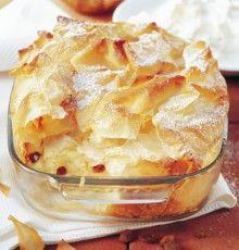Topfen-Strudel-Auflauf Egg Recipes For Breakfast, Healthy Breakfast Smoothies, Breakfast Dessert, German Baking, Austrian Recipes, Brownie Desserts, Gateaux Cake, Other Recipes, Baking Recipes