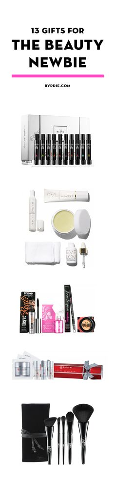 Gifts for the beauty newbie in your life