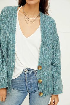 Molly Cable Cardi | Free People