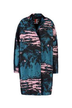 MSGM coat - winter print
