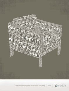 furniture poster typo #typography #graphisme