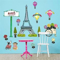 @rosenberryrooms is offering $20 OFF your purchase! Share the news and save!  J'aime Paris Peel & Place Wall Stickers #rosenberryrooms