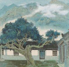 Pu Songling's Studio, 1978 by Yuan Yunfu
