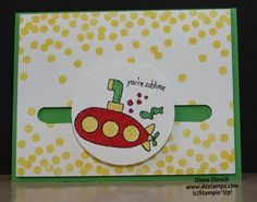 Stampin' Up! You're Sublime Spinner Card - DDStamps with Diane ...