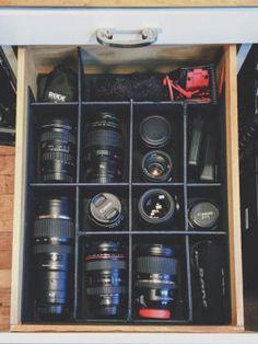 How I organize my camera gear   Drew Mason Video