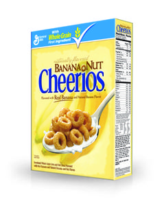 Happiness in a box. Banana Nut Cheerios on etsy Fisher still needs to try these. Banana Nut Cheerios, Cheerios Cereal, Oat Cereal, Oat Cookies, Chocolate Banana Bread, Baked Banana, Snacks, Kitchen Confidential, 90s Childhood