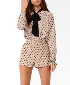 chococat tie collar shirt   www.forever21.com   IN LOVE <3