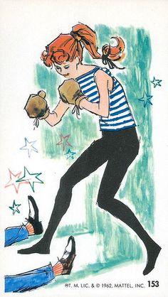 Barbie Jumbo Fashion Trading Card #153, 1962
